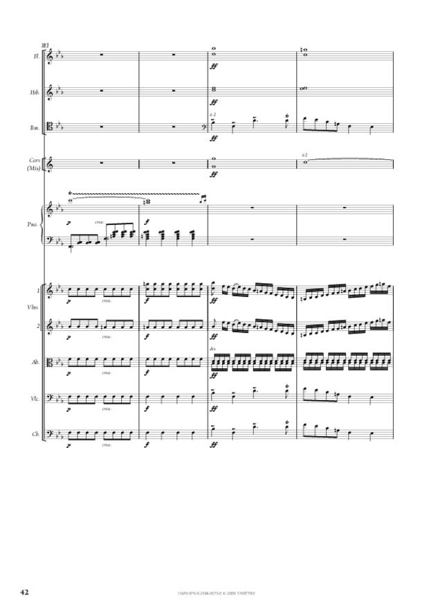 Concerto pour piano et orchestre n°2, extrait 7