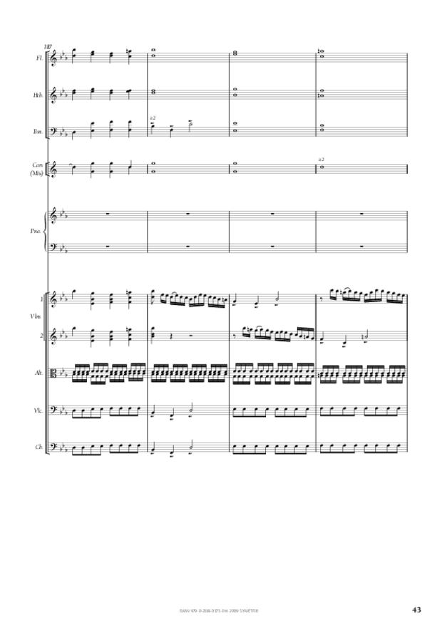Concerto pour piano et orchestre n°2, extrait 8