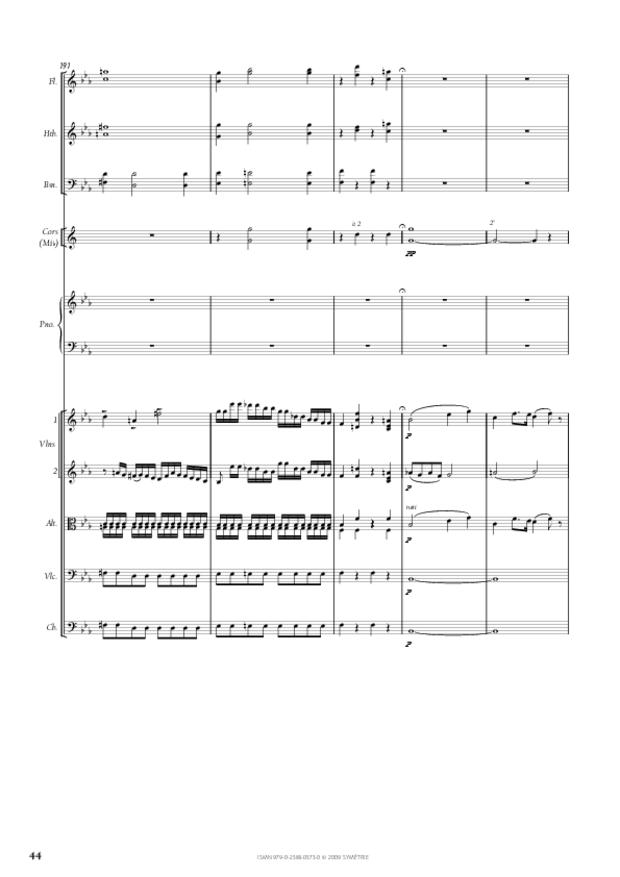 Concerto pour piano et orchestre n°2, extrait 9