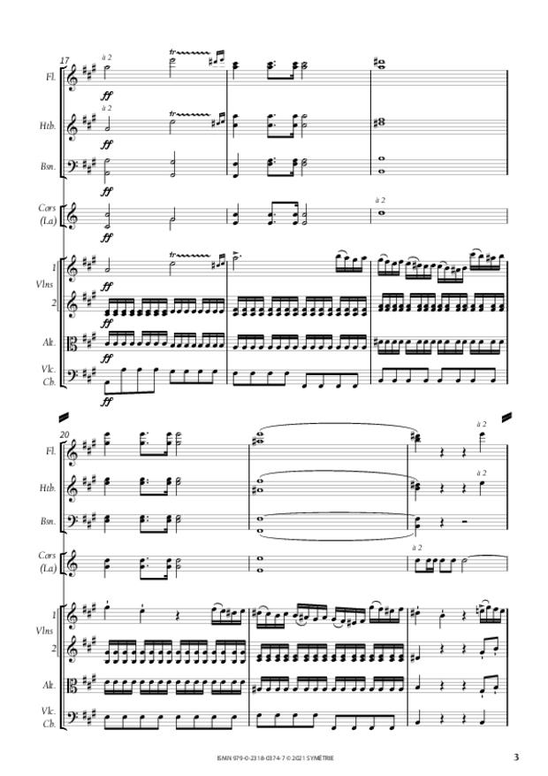 Concerto pour piano et orchestre n°3, extrait 3