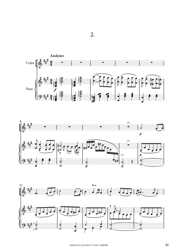 Concerto pour piano et orchestre n°3, extrait 4