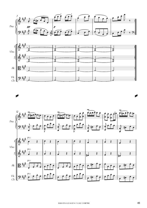 Concerto pour piano et orchestre n°3, extrait 7
