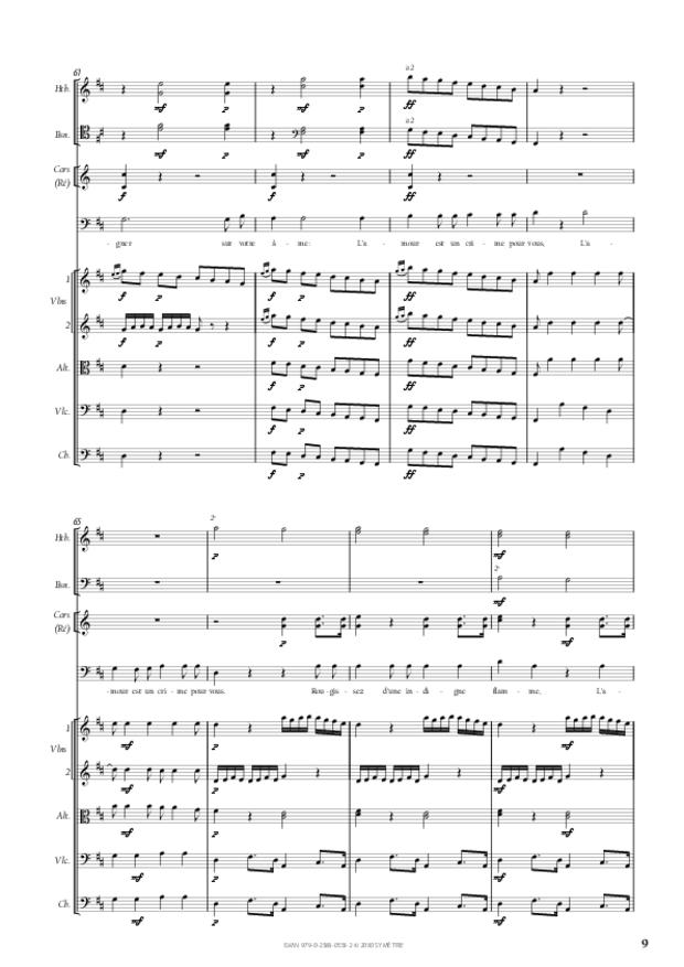Air d'Arcalaüs extrait d'Amadis de Gaule, extrait 2