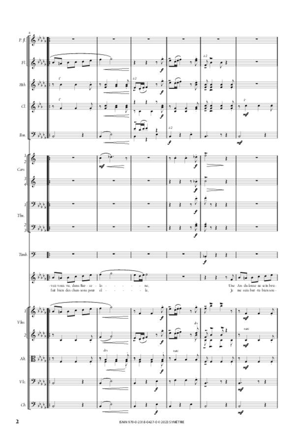 L'Andalouse, extrait 2
