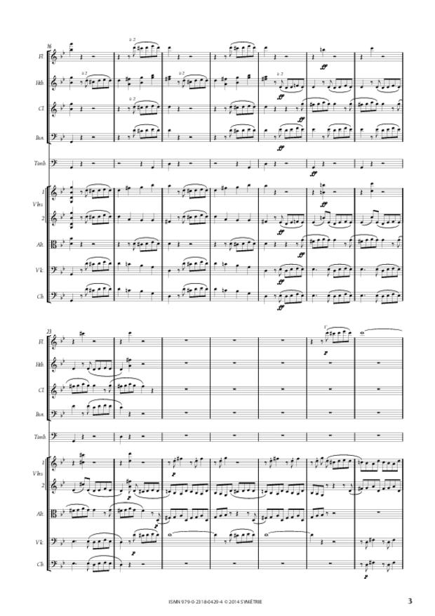 Symphonie n° 1, extrait 3