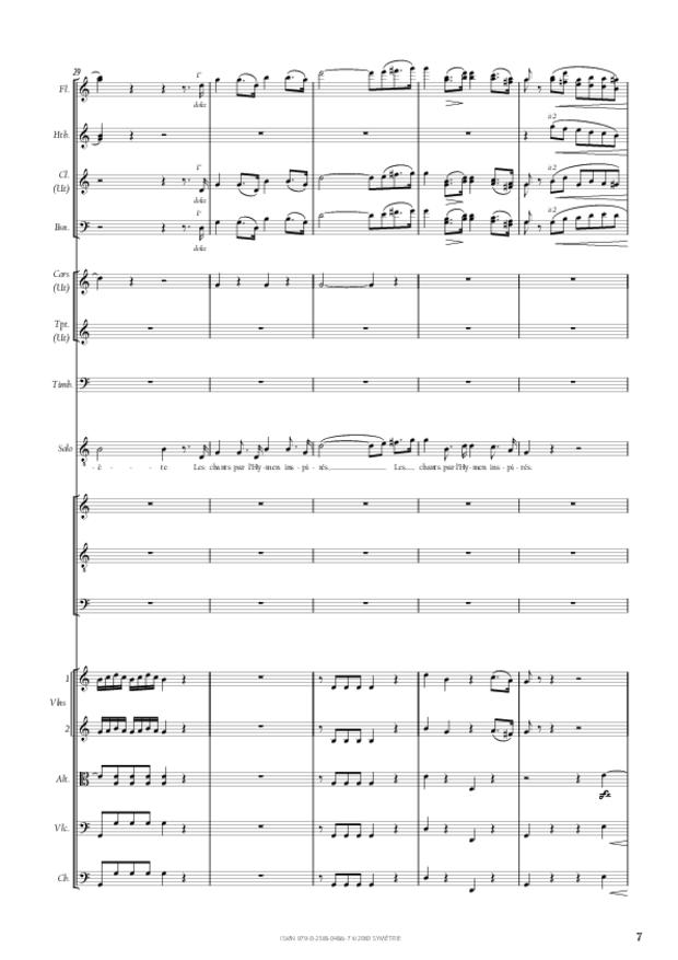 Ode à l'hymen, extrait 2