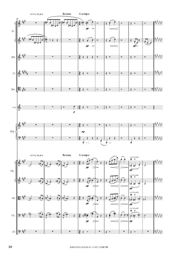 Six Préludes, extrait 3