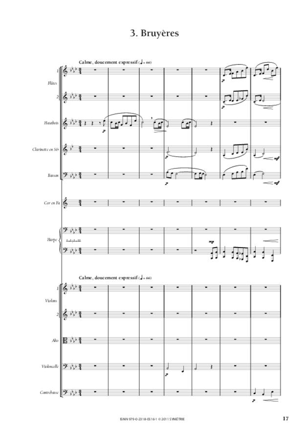 Six Préludes, extrait 4