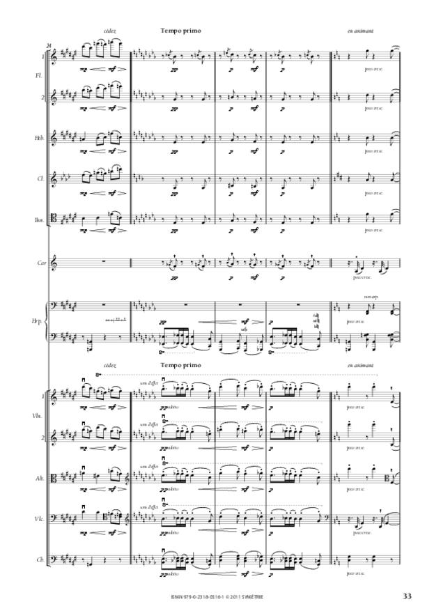 Six Préludes, extrait 5