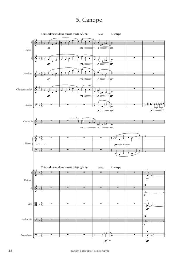 Six Préludes, extrait 6