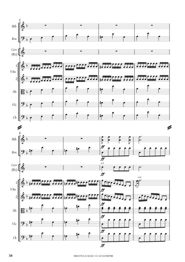 Orphée et Eurydice – Suite d'orchestre (Ouverture, Ballet  des Ombres heureuses, Air de furies), extrait 10