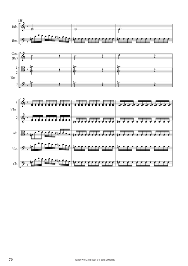 Orphée et Eurydice – Suite d'orchestre (Ouverture, Ballet  des Ombres heureuses, Air de furies), extrait 11