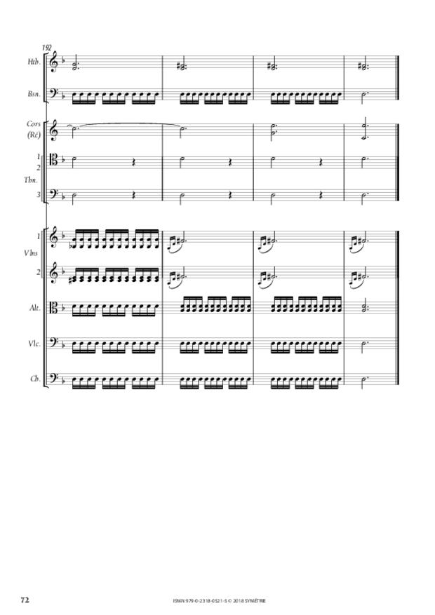 Orphée et Eurydice – Suite d'orchestre (Ouverture, Ballet  des Ombres heureuses, Air de furies), extrait 13