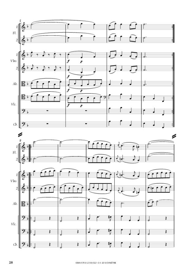 Orphée et Eurydice – Suite d'orchestre (Ouverture, Ballet  des Ombres heureuses, Air de furies), extrait 7