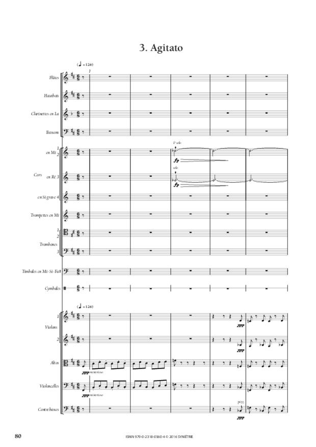 Symphonie romantique, extrait 13