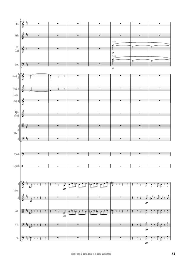Symphonie romantique, extrait 14