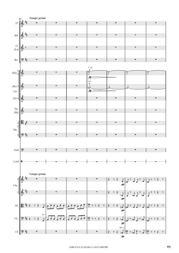 Symphonie romantique, extrait 15