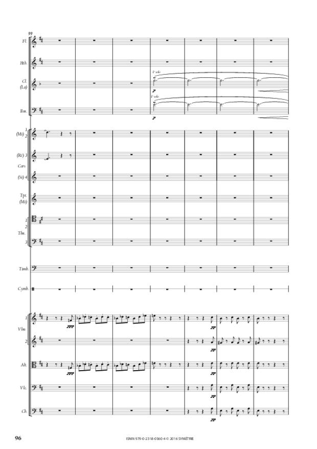 Symphonie romantique, extrait 16