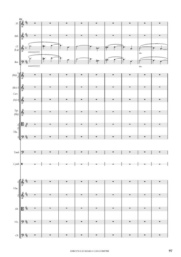 Symphonie romantique, extrait 17