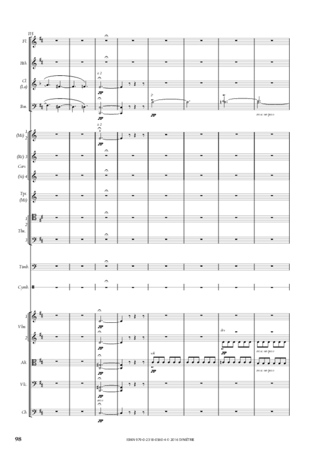 Symphonie romantique, extrait 18