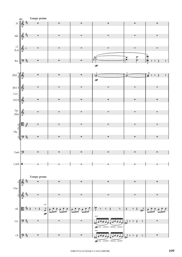Symphonie romantique, extrait 21