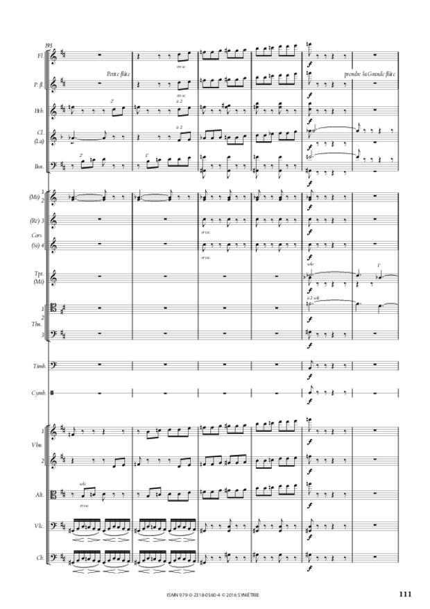 Symphonie romantique, extrait 23