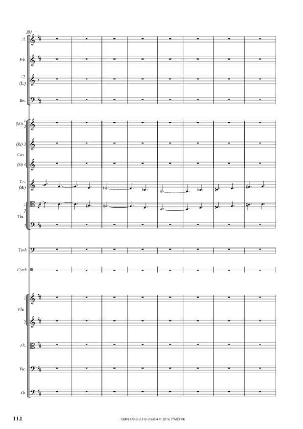 Symphonie romantique, extrait 24