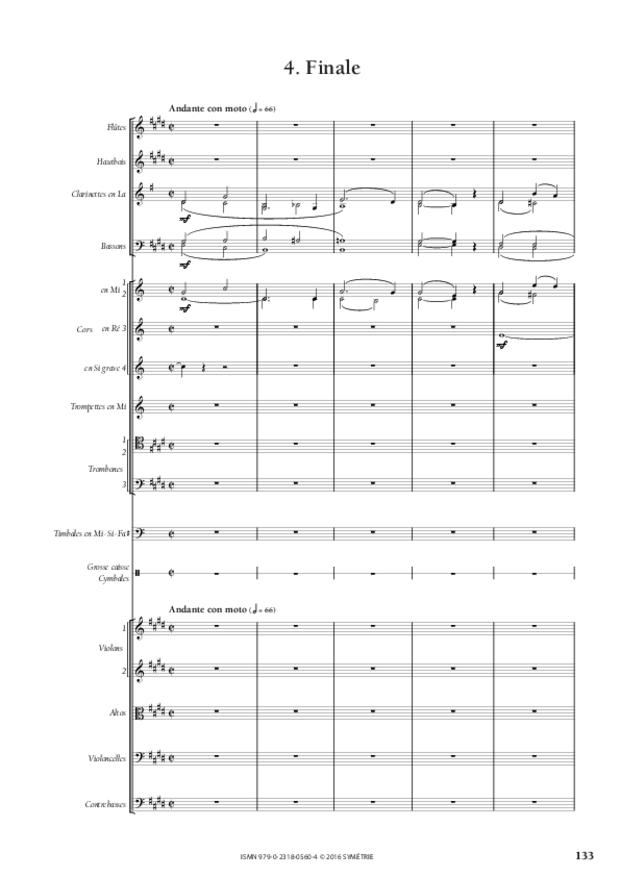 Symphonie romantique, extrait 25