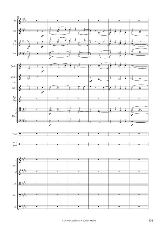 Symphonie romantique, extrait 29