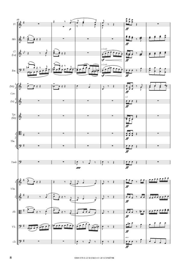 Symphonie romantique, extrait 3
