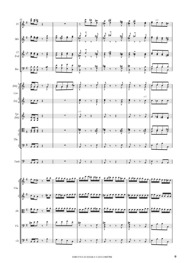 Symphonie romantique, extrait 4