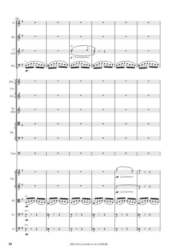 Symphonie romantique, extrait 5
