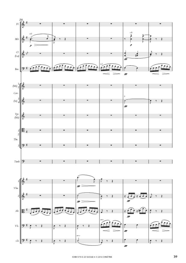 Symphonie romantique, extrait 6
