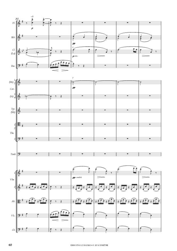 Symphonie romantique, extrait 7