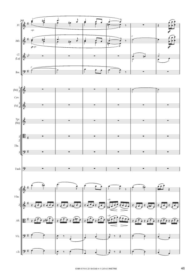 Symphonie romantique, extrait 8