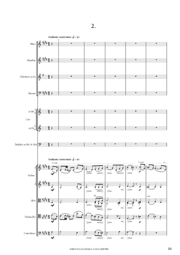 Symphonie romantique, extrait 9