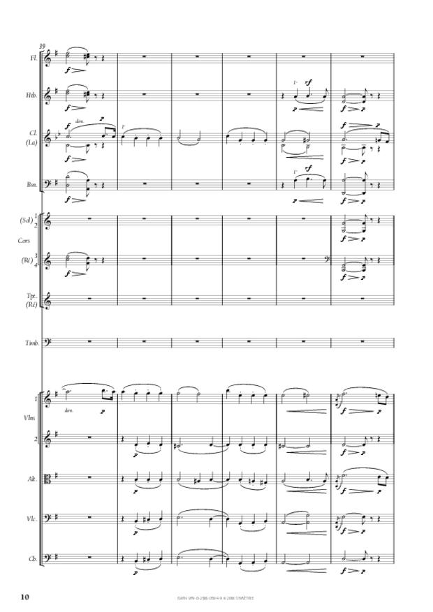 Symphonie n° 4, extrait 10