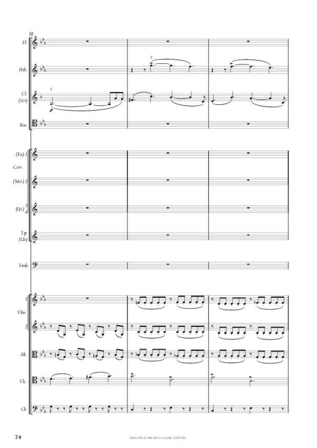 Symphonie n° 4, extrait 14
