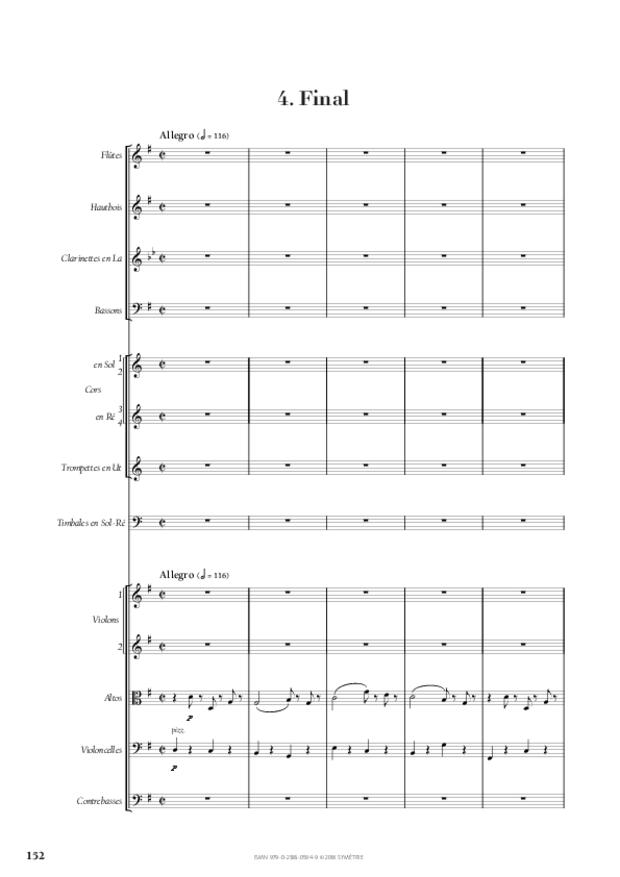 Symphonie n° 4, extrait 22