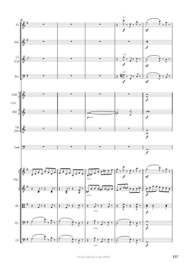 Symphonie n° 4, extrait 27