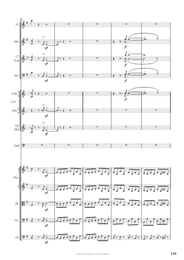 Symphonie n° 4, extrait 29