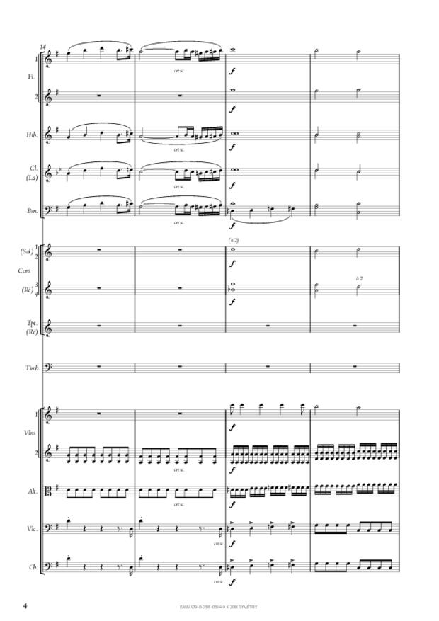 Symphonie n° 4, extrait 4