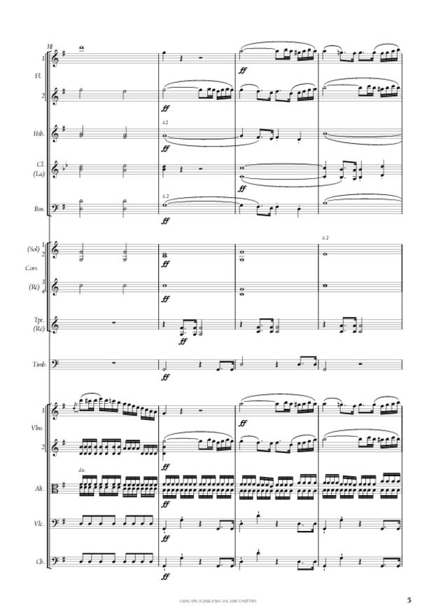 Symphonie n° 4, extrait 5