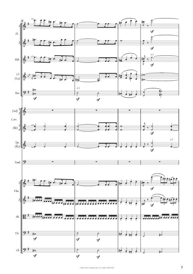 Symphonie n° 4, extrait 7