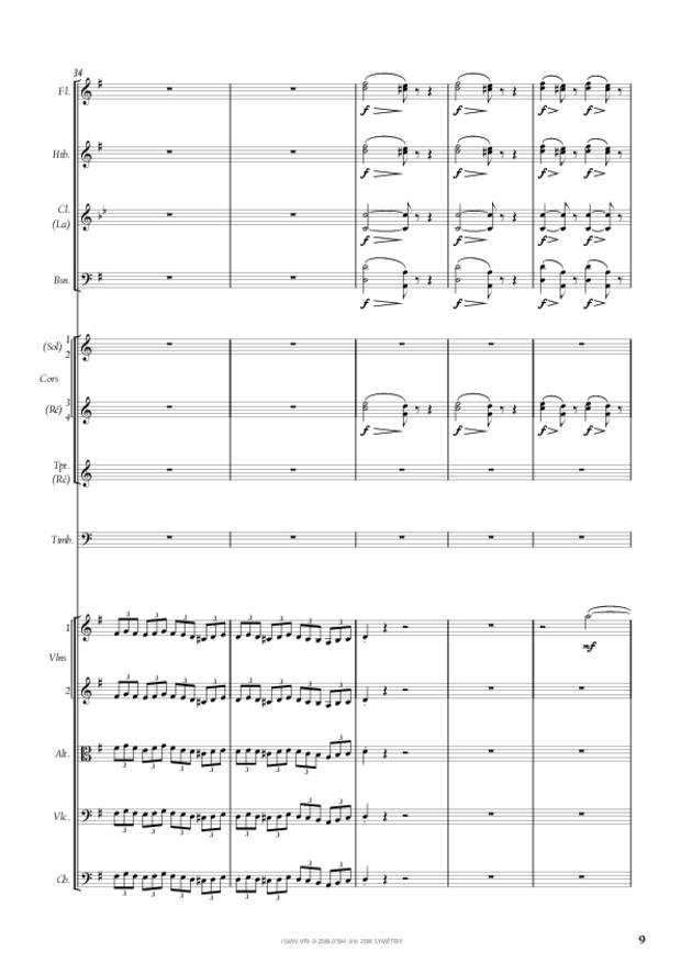 Symphonie n° 4, extrait 9