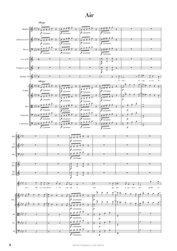 Entracte et air de Madame Tell extrait de Guillaume Tell, extrait 2
