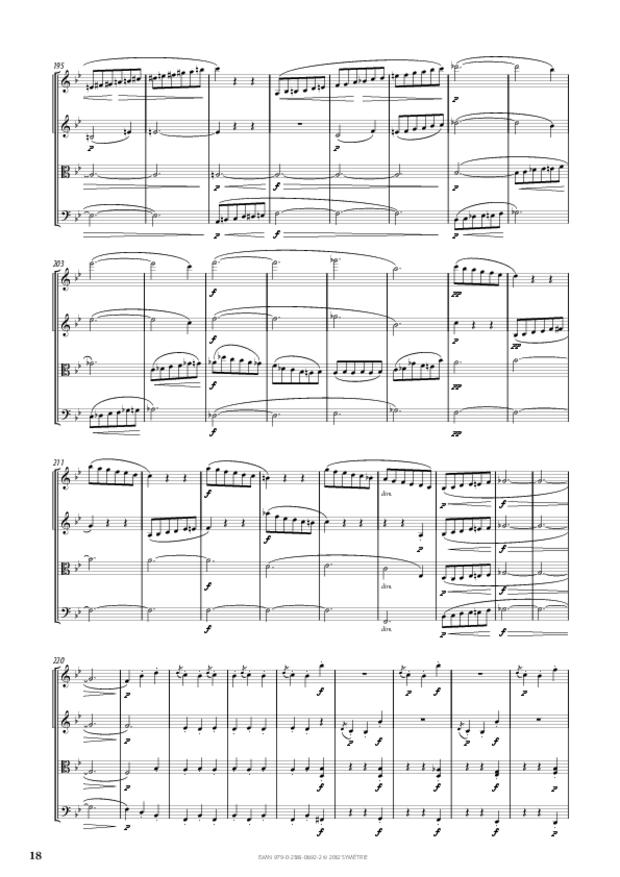 Quatuor op. 50, extrait 3