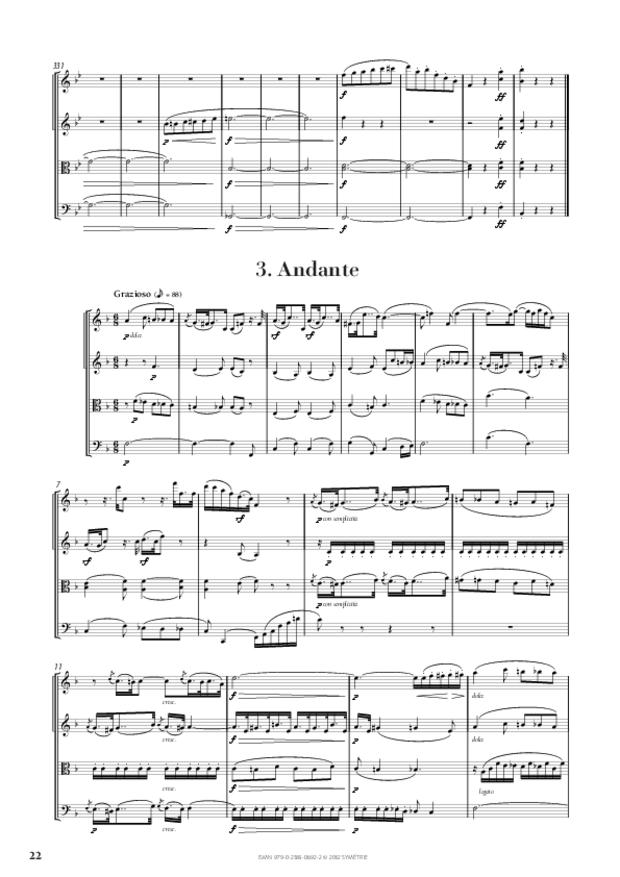 Quatuor op. 50, extrait 4