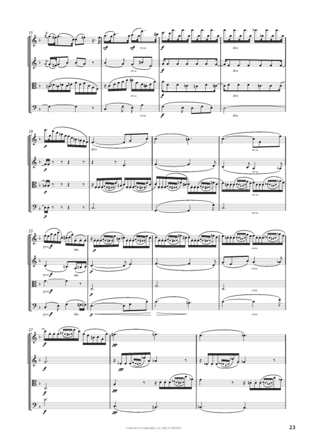 Quatuor op. 50, extrait 5