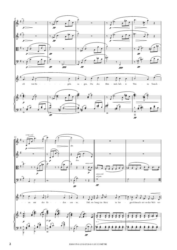 Wesendonck-Lieder, extrait 2